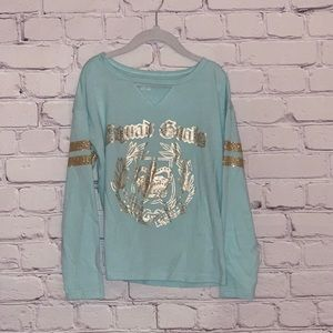 Girls long sleeved tee